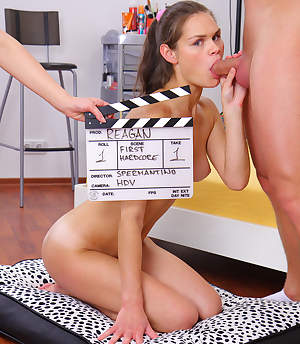 Spermantino.con - Her First Scene!